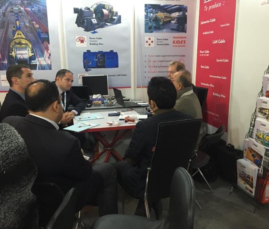 Negotiation at trade fairs